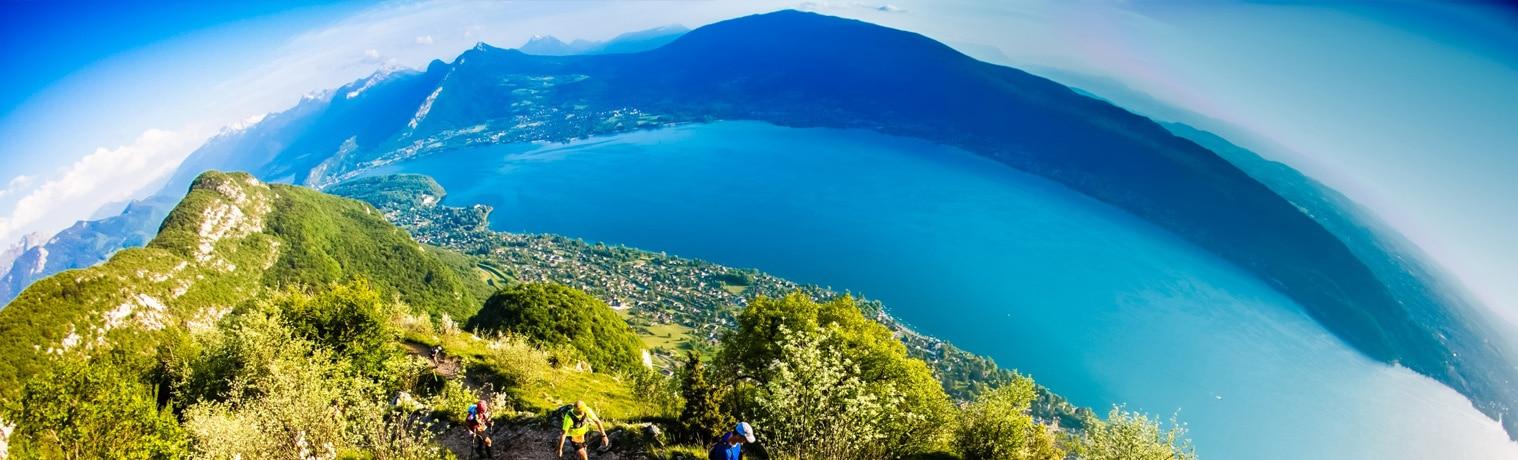 Ultra Race trail de 110km autour du lac d'annecy